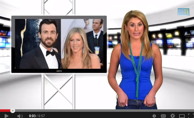 CelebTV talks about Jennifer Aniston converting her garage to a closet.